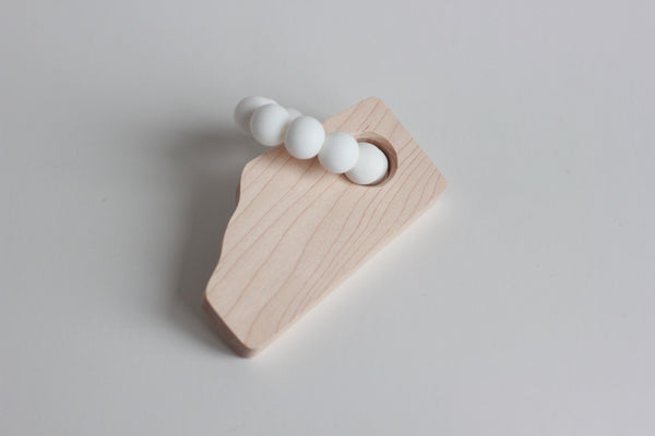 the ALBERTA teether // Customize - The Baby Niche