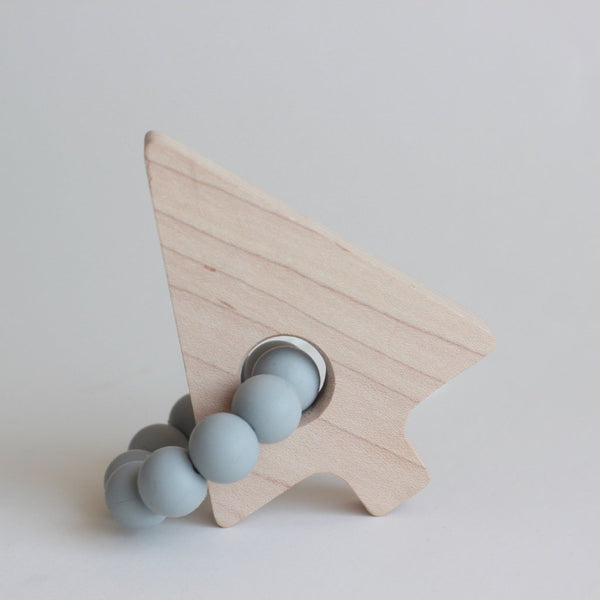 Pine Tree Maple Teether + Toy // Customize - The Baby Niche