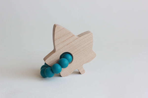 Canadian Leaf Maple Teether + Toy // Customize - The Baby Niche
