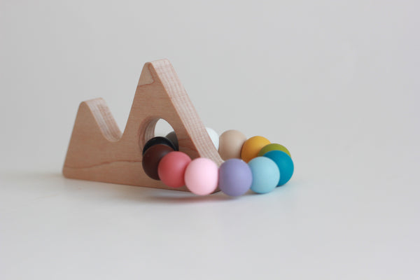 MOUNTAIN teether // Customize - The Baby Niche