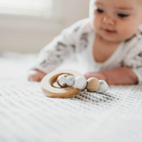 the MAE teether + rattle