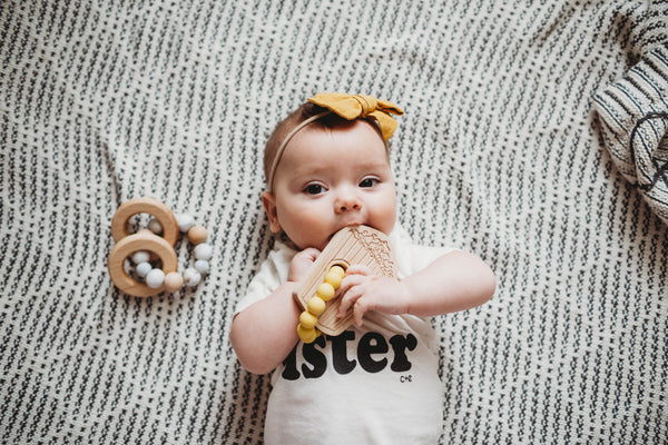 POPCORN Teether + Toy