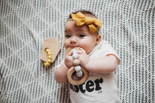 MAE teether + rattle