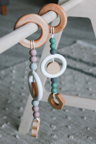 Play Gym teether + toys // HEX