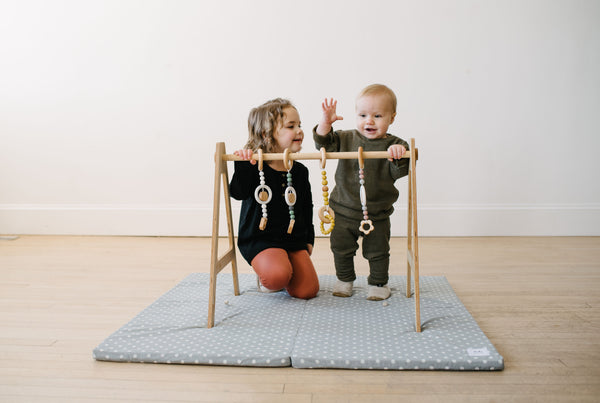 Play Gym teether + toys // SQUARE