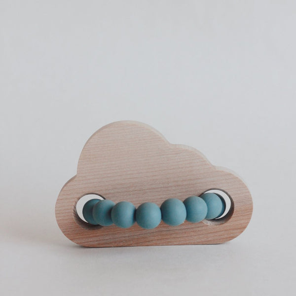 Cloud Silicone Teether + Toy