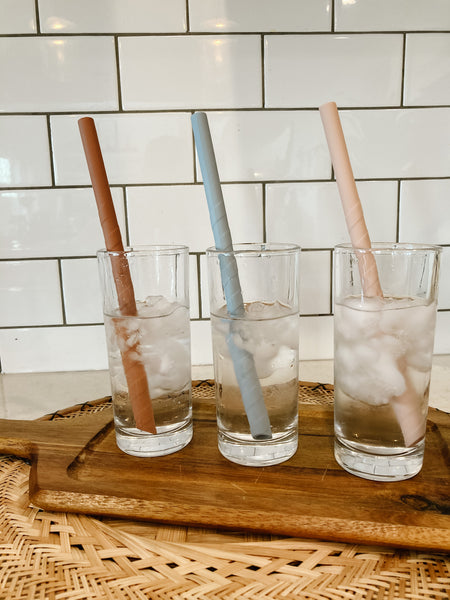 the silicone STRAW (12 packs)