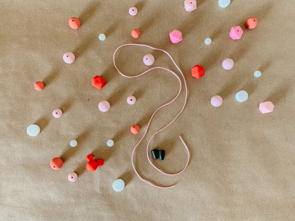Pretty in Pink // DIY Necklace kit