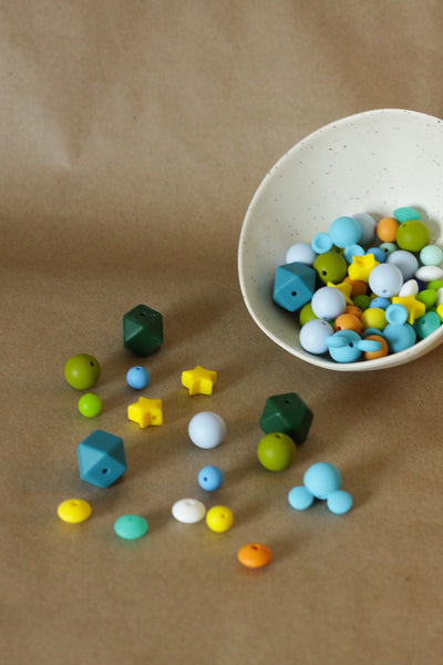 REFILL  + ALPHABET Beads // DIY Necklace kit