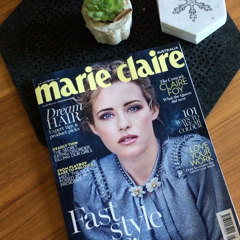 Press Hit: MARIE CLAIRE