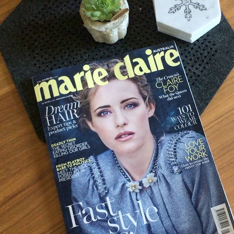 Marie Claire Magazine Cover April 2018 Issue