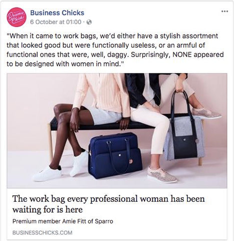 Business Chicks Facebook page