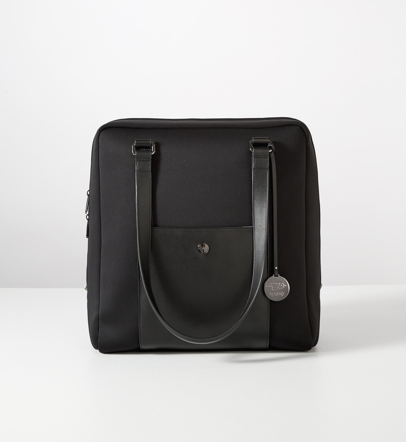 Classic Carry-All: Black w Gunmetal