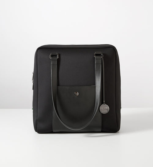 Sparro Designs | Classic Carry-All - Black w Gunmetal