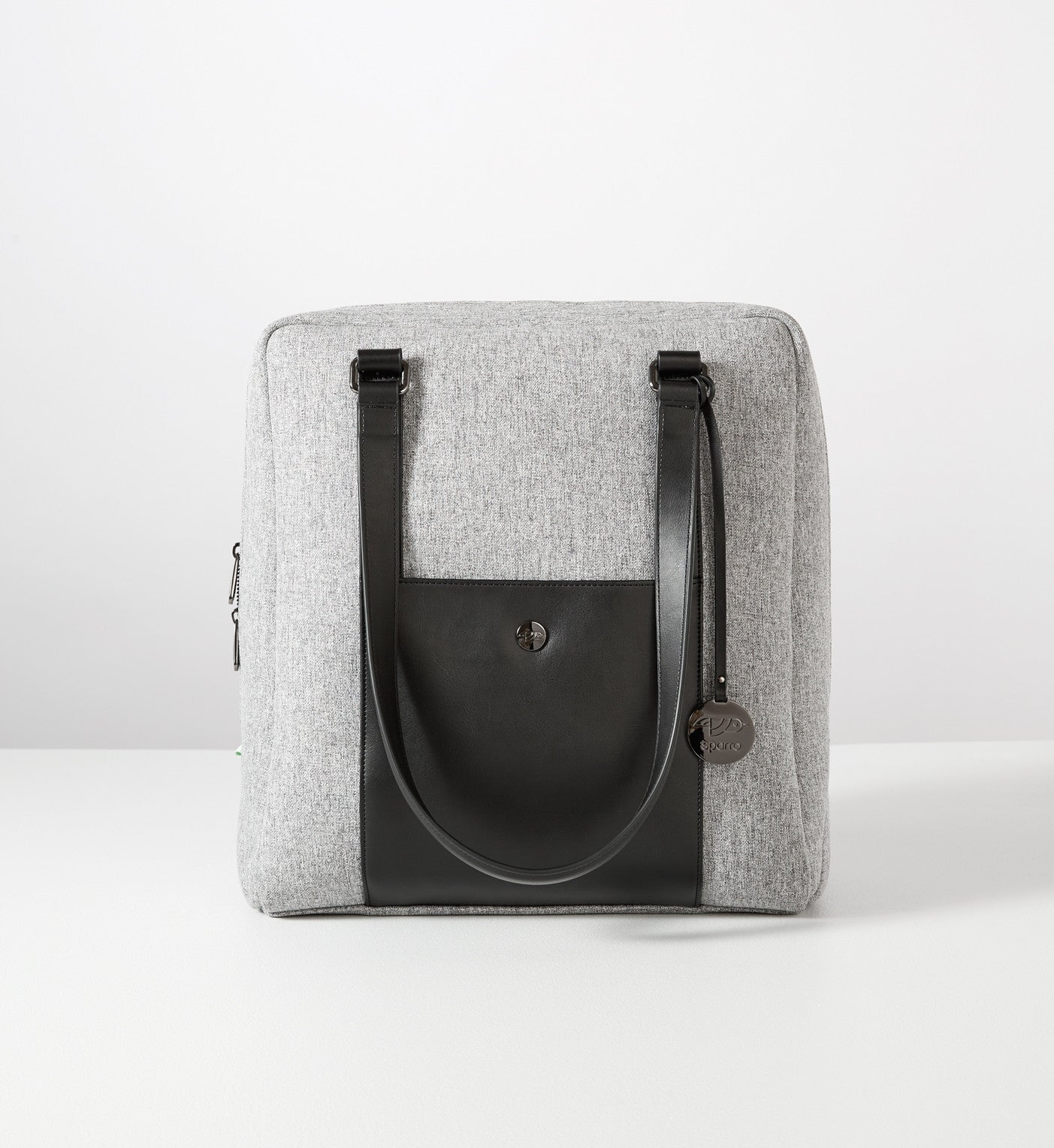 Classic Carry-All: Grey w Gunmetal