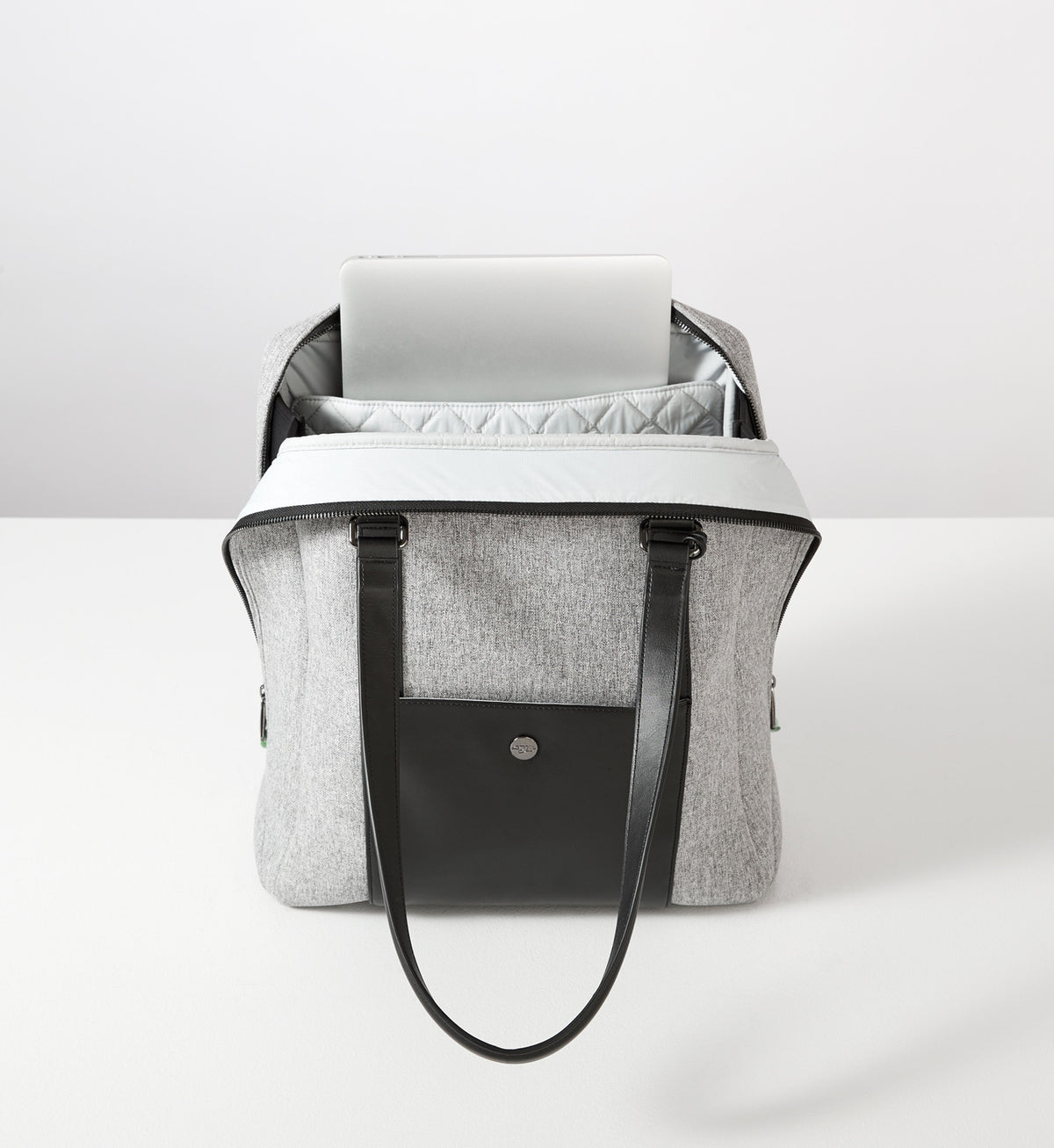 Sparro Designs | Classic Carry-All: Grey w Gunmetal