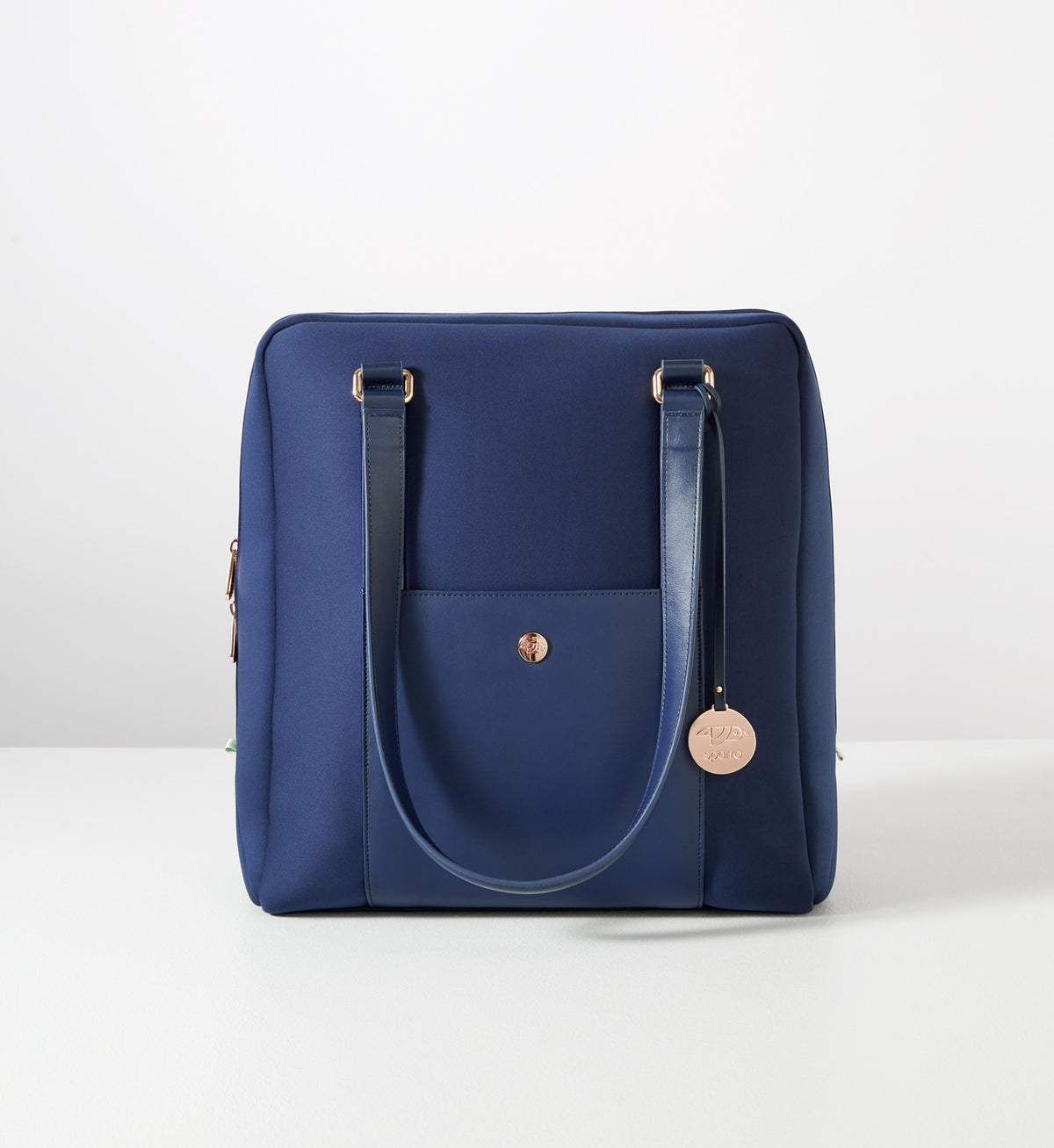 Sparro Designs | Classic Carry-All: Ink Blue w Rose Gold