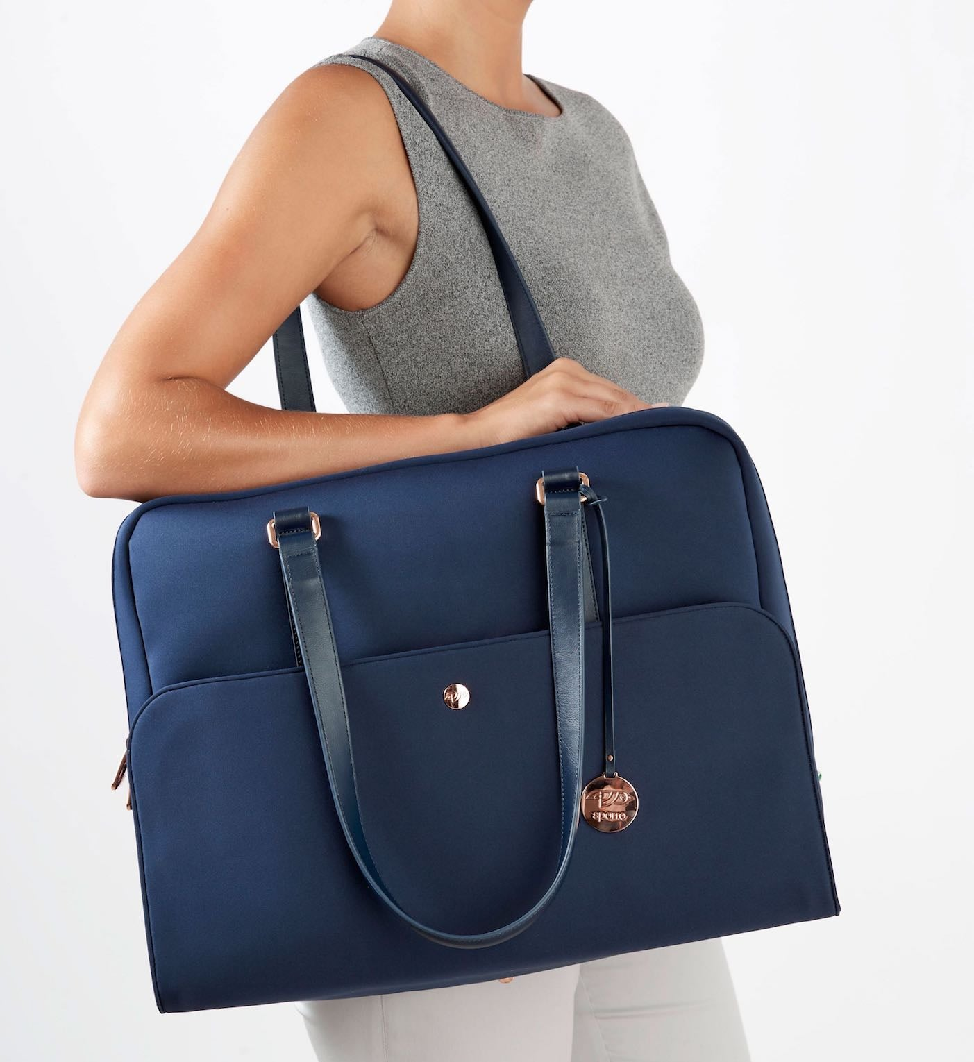 Sparro Designs Luxe neoprene and leather Carry-All's