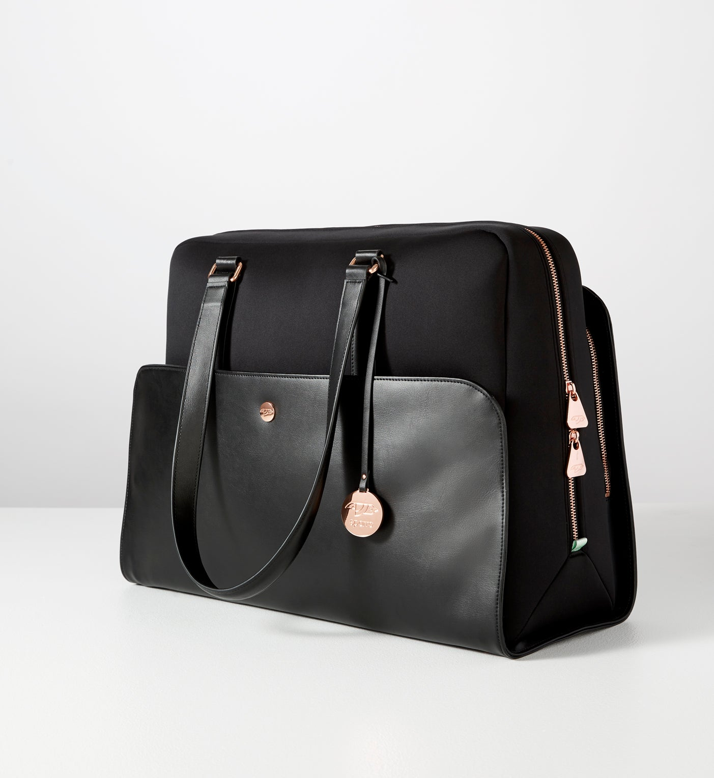 Signature Carry-All Black w Rose Gold