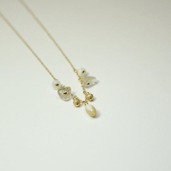 Delicate Gemstone Necklace