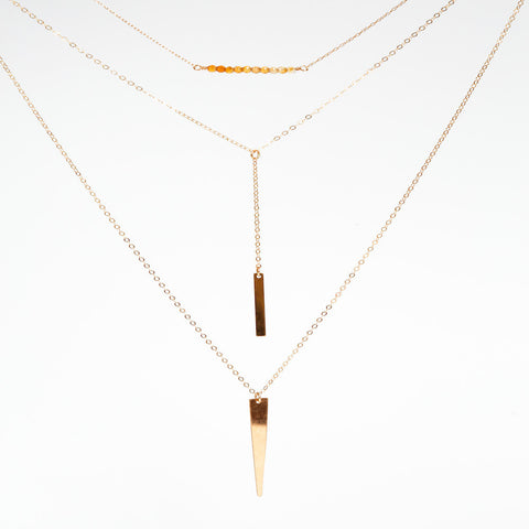 Three Necklace Layering Set