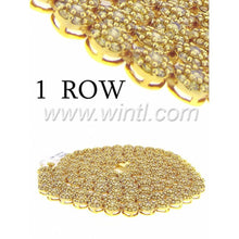 CZ FLOWER CHAIN ONE ROW IN 18''-30'' - 960044