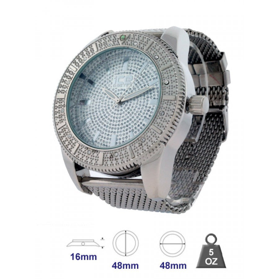 Bling Metal Watch