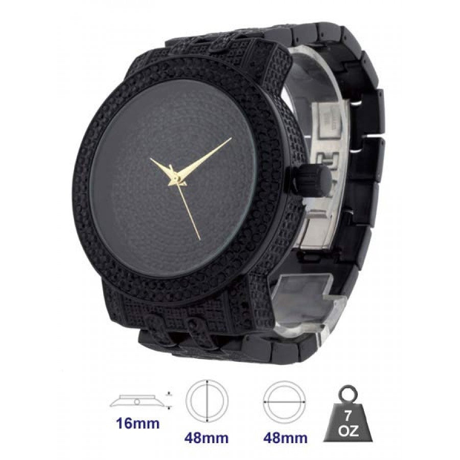 Bling metal watch for men - 1255-D