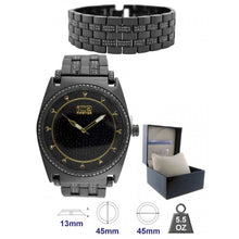 Watch and Bracelet Set for Men with Box