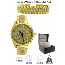 Watch & Bracelet set - 530032