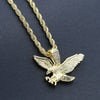 EAGLE CHAIN AND CHARM - D910792