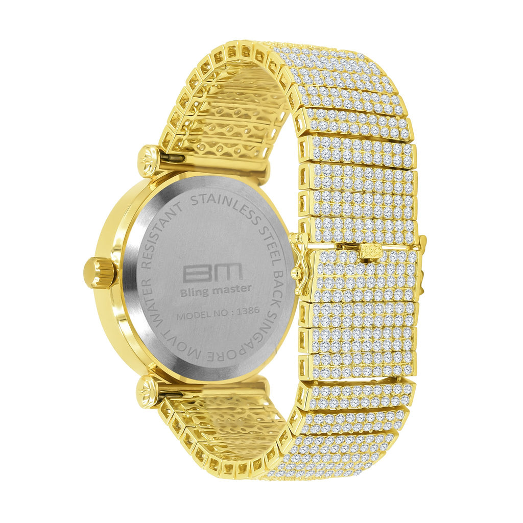 FOXY CZ ICED OUT WATCH | 5113450