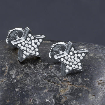 STEEZY SCREW BACK EARRINGS | 9213001