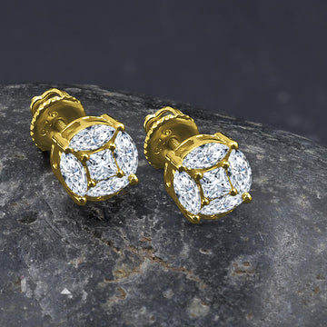Adorn Screw Back earrings | 9212622