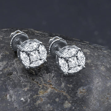 ADORN SCREW BACK EARRINGS  | 9212621