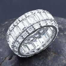 PRISMATIC SILVER RING I 9214381