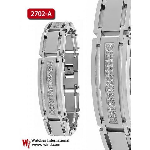 Steel Bracelet with CZ 2773-A