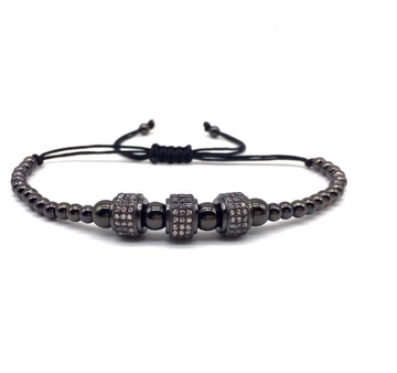 Orthodox Steel Bracelet CZ | 939593