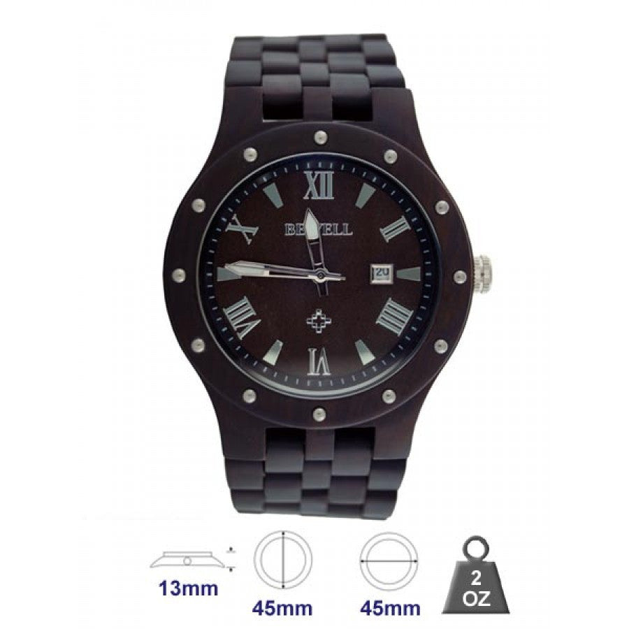 Natural wood watch for Men 5700761