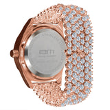 Men's, Brass and Alloy, Crystal watch