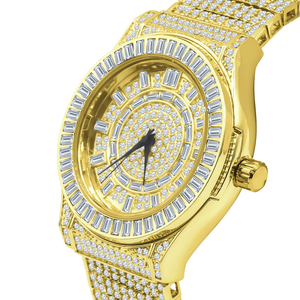 GALLANT Steel CZ Watch | 5110332