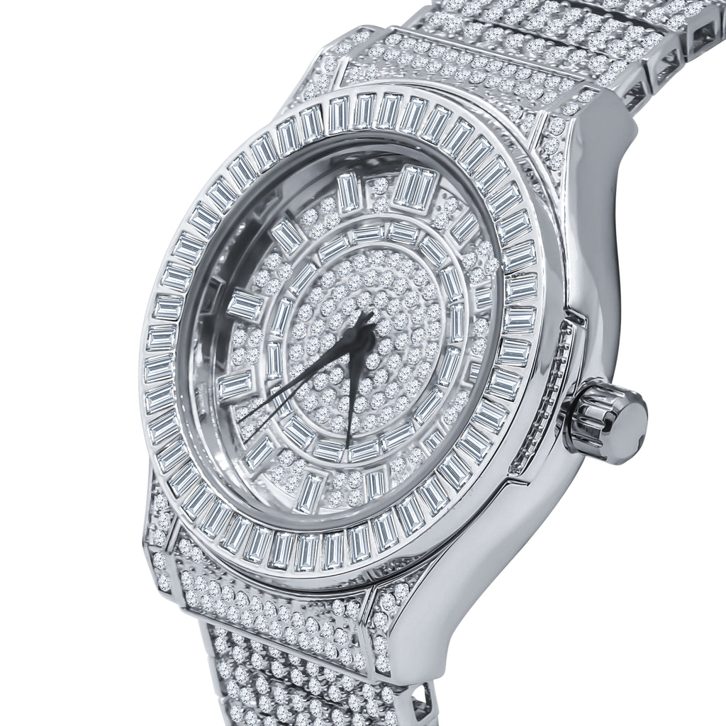 GALLANT Steel CZ Watch | 5110335