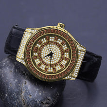 Conspicious Bling Leather Watch | 51103646