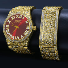 FLAMBOYANT ULTRA BLING WATCH SET | 530296