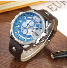 Curren MILITARY Classic Leather Strap Fashion Watch | 5402813