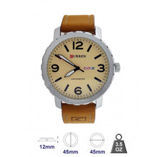 Curren Leather Band Watch for Men 8273