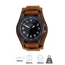 Curren Leather Band Water Resistant Watch For Men