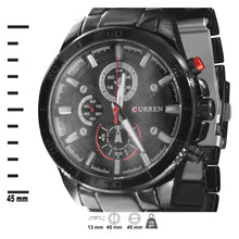 CURREN Metal Band Watch-550683