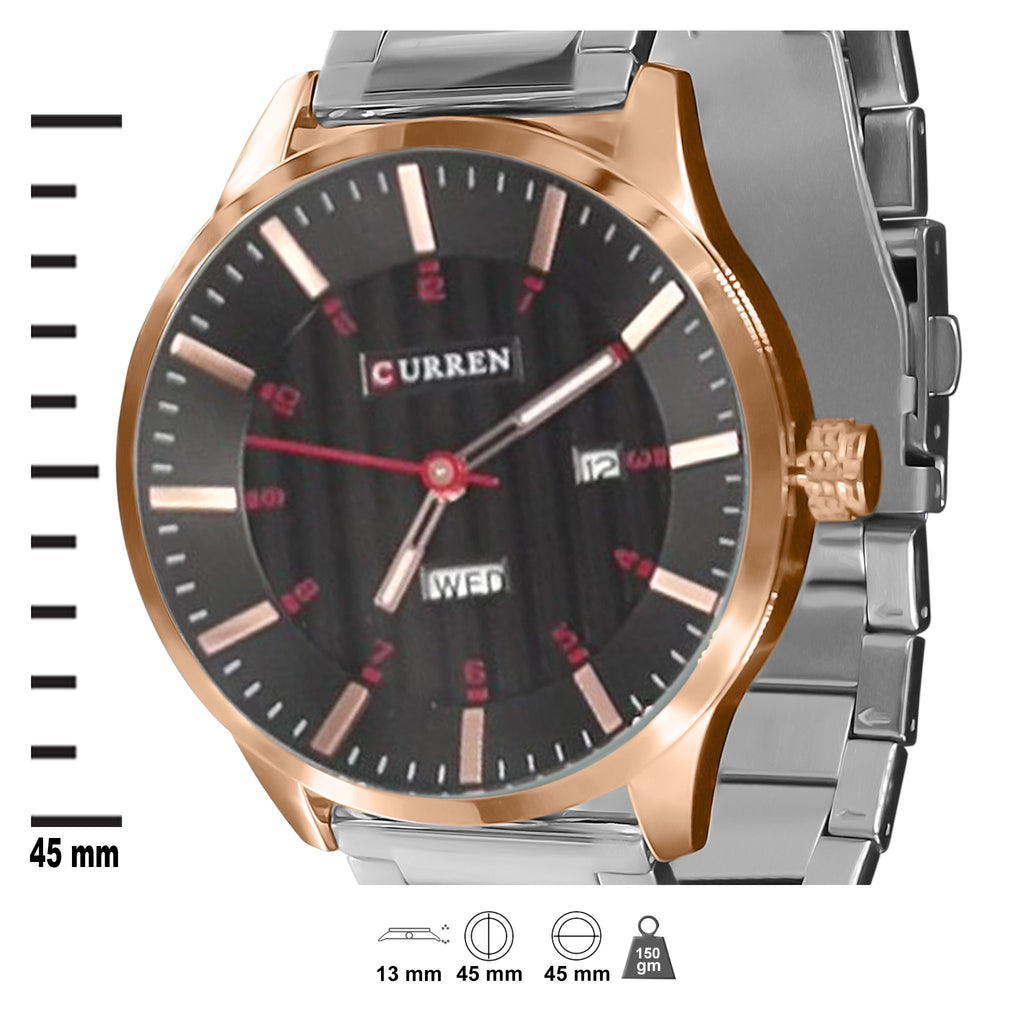CURREN Metal Band Watch-550733