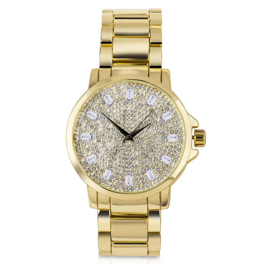 Bling Metal Band Watch - 562222